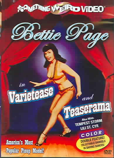 BETTIE PAGE:VARIETEASE/TEASERAMA BY ST. CYR,LILY (DVD)