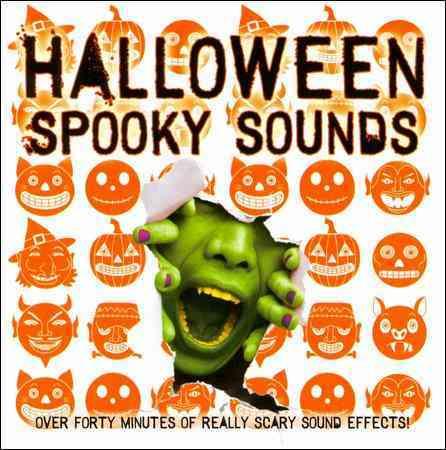 HALLOWEEN SPOOKY SOUNDS (CD)